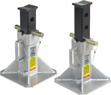 """OTC Jack Stands (Pair) 22 Tons 19 7/8"""" Max Height ,13-7/8"""" Min H ,11"""" Flat Base"""