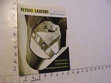 Vintage UFO info: FLYING SAUCERS june 1969