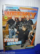 PAWN STARS LAS VEGAS WEEKLY MAG SIGNED BY RICHARD SR. & RICK THE SON