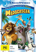 MADAGASCAR - BRAND NEW & SEALED REGION 4 DVD (DREAMWORKS)