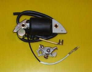 HONDA G400 IGNITION COIL CONDENSOR & CONTACT BREAKER POINTS