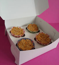 4 boxed DOG MUFFINS CUPCAKE CAKES CAKE BIRTHDAY treat puppy food gift party