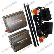 Sistema wireless di trasmissione audio-video a lungo raggio 3.5 Watt 2.4ghz