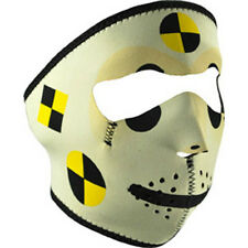 Crash Test Dummy Neoprene Full Face Mask Biker Costume Gift Free Shipping ATV