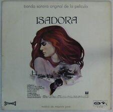 Maurice Jarre Isadora 33 tours  1968