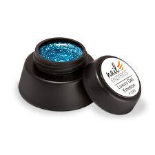 Luxury Gel Emotion deckendes Nageldesign UV-Glitter Gel türkis blau blue