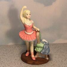 MY LITTLE BALLERINA FIGURINE HERITAGE HOUSE TENDER MEMORIES CHILDHOOD STATUE INC