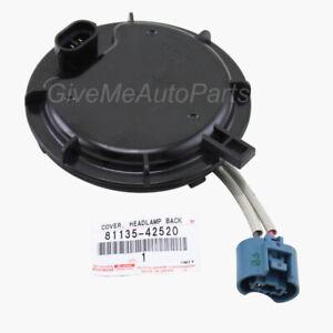 8113542520 Genuine Toyota COVER HEADLAMP BACK NO.1 81135-42520