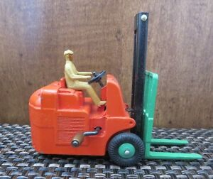 Dinky Fork Lift Toy Truck 14c Litho in Orig Box Excellent Condition Vintage