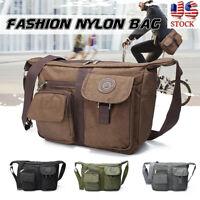 Women Nylon Shoulder Bag Handbag Travel Shopper Messenger Crossbody Tote  USA