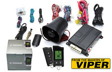 The Creators Of Viper Python 5706P 2 Way Lcd Car Alarm Remote Start System 5706V