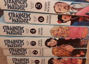 Strangers In Paradise Pocket Books #1-6