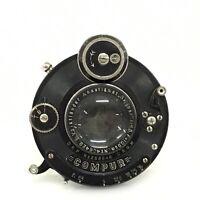Vintage Voigtlander Anastigmat Skopar 10.5cm F4.5 Lens w/ Compur Shutter [JC]