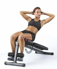 Adjustable Weight Bench Set With Leg Extension Workout Exercise Gym Fitness New