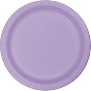 "Lavender 10"" Paper Plates 24 Per Pack Tableware Party Decoration Supplies"
