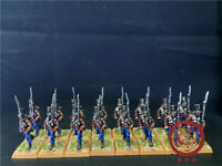 1/56 28mm Napoleonic Wars DPS painted Auatrian Grenz Infantry  GH2260
