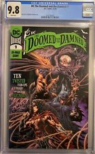 THE DOOMED and the DAMNED #1 (2020) CGC 9.8 NM/MT 80 PAGE GIANT SWEET COVER DC