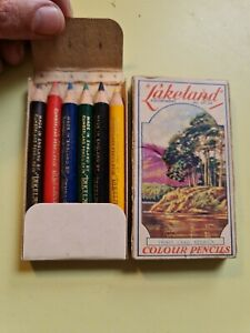 Vintage Lakeland Small Artist Colouring Pencils The Cumberland Pencil co