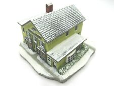 Vintage Rhodes Studio The Country Store by Norman Rockwell Building Figurine COA