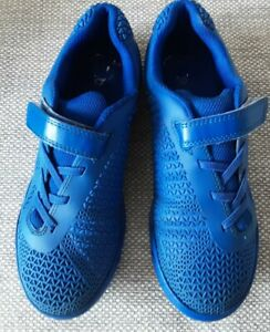 Clarks boys Trainers/astra turf football  Size 3G blue. Washable. Non-marking