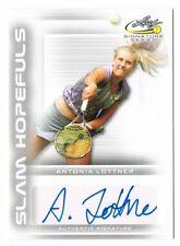 2017 Leaf Signature Series Tennis Slam Hopefuls Autograph Auto Antonia Lottner