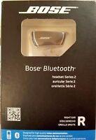 NEW Bose Bluetooth Headset Series 2 Right Ear Black Ear-Hook Headsets 1YWARRANTY