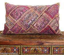 antik Orient Bestickt Patchwork Kissen Sitzkissen Embroidered pillow Cushion N11