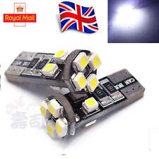 4X T10 BOMBILLAS COCHE LED Canbus Libre De Error 8 Smd Xenon Blanco W5W bombilla de luz lateral de 501
