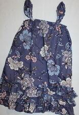 Baby Gap Blue Pink Floral Flutter Dress Girl Size 4 LN