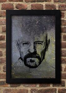Mr White Street Art 1 FineArt Print A4 Kunstdruck Galeriequalität handsigniert