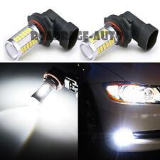 2X 9006 HB4 9005 High Power LED White 6000K 60W Fog Light Driving Lamp Bulb