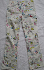 -Authentique  pantalon MOSCHINO coton TBEG vintage -  Taille 30 italien
