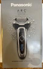Panasonic Arc5 Electric Razor, Men's 5-Blade Cordless Wet/Dry ES-LV65-S