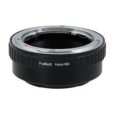 Fotodiox objetivamente adaptador Konica ar (lens Mount) en Sony Alpha Nex-e cámara