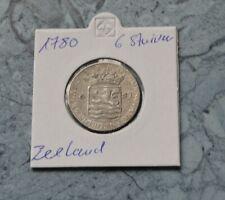 Zeeland ~ Niederlande   6 Stuiver  1780 *** Schiff