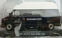 Fiat Ducato Maxi FAINA 1988 Carabinieri - Scala 1:43 - Atlas - Nuovo