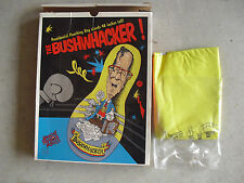 Unique George H Bush Presidential Punching Bag NIB The Bushwhacker