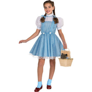 Wizard of Oz Deluxe Dorothy Child Costume   Rubies 886494