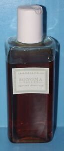 CRABTREE & EVELYN SONOMA VALLEY BATH & SHOWER GEL 6.8 OZ 90% full Lovely floral!