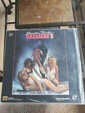'SLUMBER PARTY MASSACRE II' - HTF R-Rated 1987 Horror on Laser Disc.VG Rare