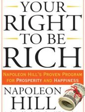 Your Right To Be Rich by Napoleon Hill Audio Book 1 x MP 3 CD 11 Hours