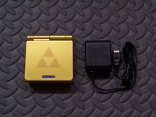 Game Boy Advance SP ZELDA System AGS101 BRIGHTER MODEL w/AGS101 Sticker