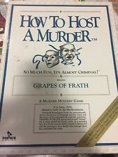 How To Host A Murder Grapes Of Frath Game