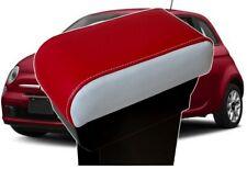 BRACCIOLO FIAT 500 SCORREVOLE rosso e avorio VENDITA PROMO FIAT 500 accoudoir