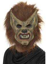 Werewolf Mask Halloween Adult Unisex Smiffys Fancy Dress Costume Accessory