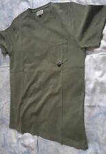 T-SHIRT UOMO TG. S TG.L OPPURE XXL ROY ROGERS COL.VERDE MILITARE 100% COTONE