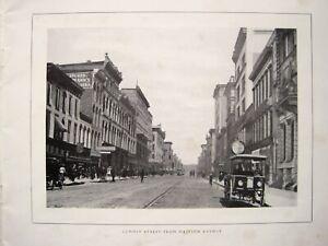 Souvenir of Toledo Ohio um 1905 AMERIKA USA ALTE ANSICHTEN FREIMAURER SELTEN