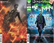 Batman #95 Main & Mattina set Joker War Begins Dc Comic 1st Print Nm unread 2020