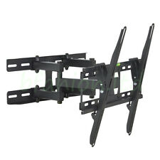 "STRONG LCD LED Plasma 3D TV WALL BRACKET MOUNT TILT SWIVEL VESA 400x400 26""-55"""