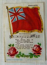 Nebo Cigarettes With England Silk: English Red Ensign Flag & Rule Britannia